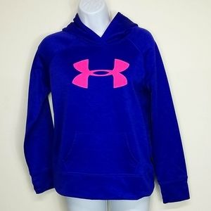 Youth Large Under Armour Storm Purple hoodie